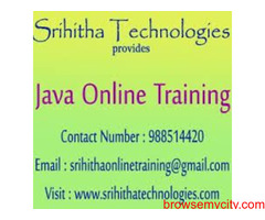 Java Online Classes From India
