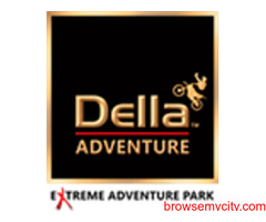 Try Out Amazing Adventure Activities At Della Adventure Park