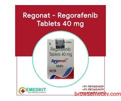 Buy Regonat 40 mg Regorafenib Tablet Online from India - Emedkit