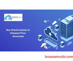 Buy cPanel Licenses at Cheapest Price: Serverwala