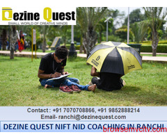 Best NIFT Preparation Coaching in Ranchi to Join – Dezine Quest