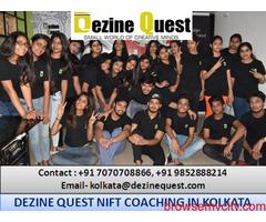 Best Dezine Quest NIFT Preparation Coaching in Kolkata to Take Admission