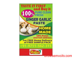 Shagun Ginger Garlic Paste