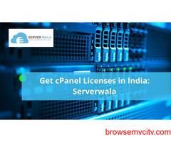 Get cPanel Licenses in India: Serverwala