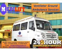 Get Varanasi Road Ambulance at Low-Cost by Medilift