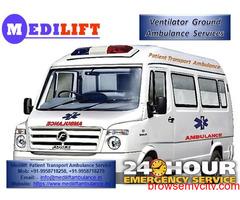 Get Ranchi Road Ambulance at Low Budget by Medilift