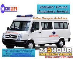 Get Bokaro Road Ambulance at Low-Price by Medilift