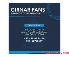 Best ceiling fans in Delhi