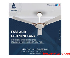 Ceiling fans manufacturers in Delhi