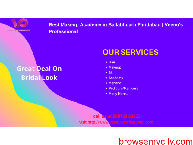 Beautician Courses in Ballabgarh Market | Veenus Professional - 1/1