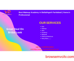 professional beauty parlour classes in ballabgarh market | Veenus Professional