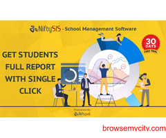 GET a full student report with a single click on our school management software.