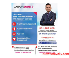 Dr Lalit Modi is the Knee Replacement Surgeon in India.