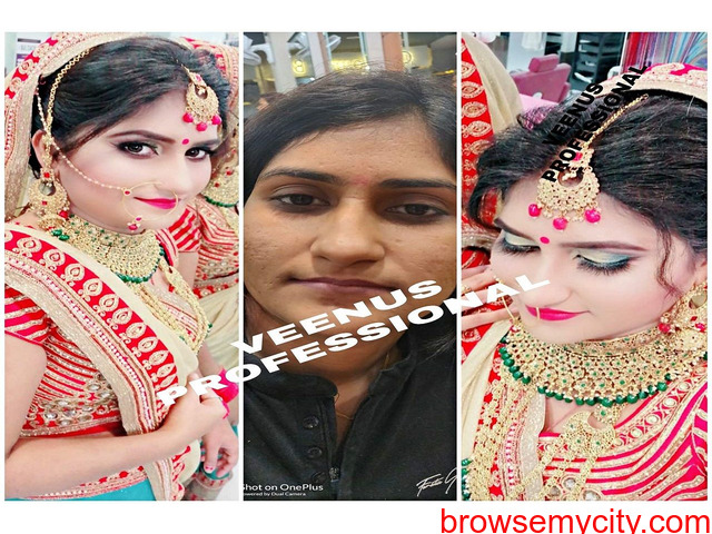 best beauty parlor in Ballabhgarh Faridabad | Veenus Professional - 1/1