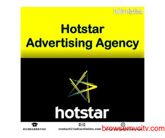 Find us for best Hotstar advertising agency