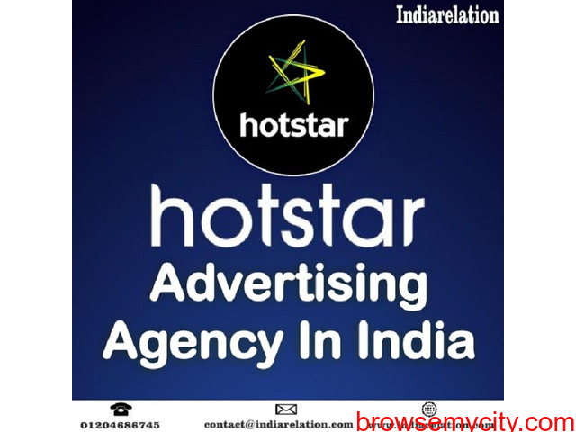 We are leading top Hotstar advertising agency in India - 1/1