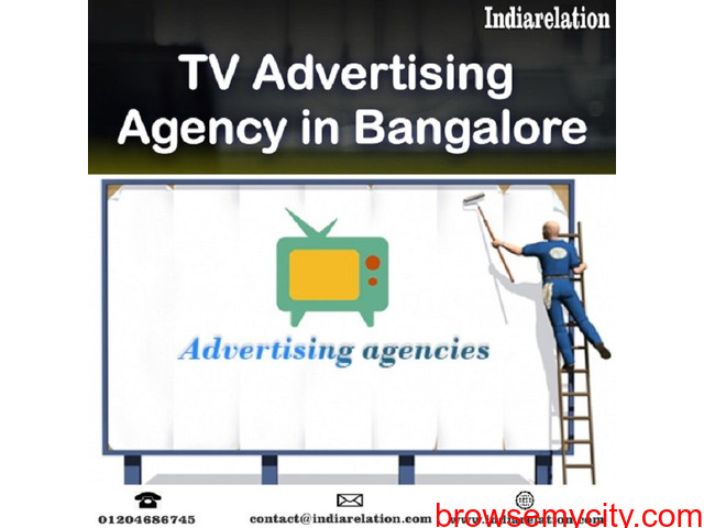 One of the top TV advertising agency in Bangalore - 1/1