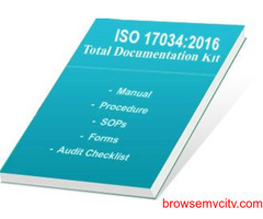 ISO 17034 Documents by Certification consultancy