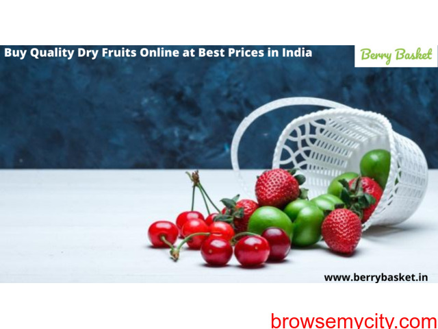 Buy Quality Dry Fruits Online at Best Prices in India. - 1/1