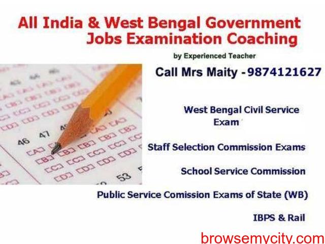Rail, PSC, IBPS, WBCS, SSC, Staff Selection Exam Class Kolkata - 1/1