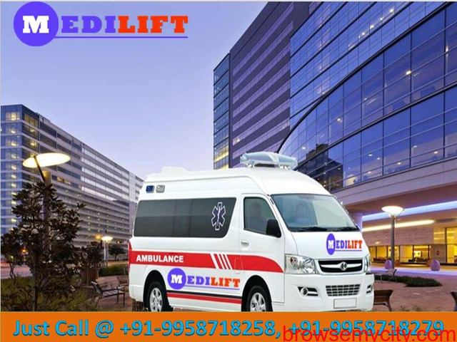 Reliable Ambulance Service in Rajendra Nagar with Medical Team - 1/1