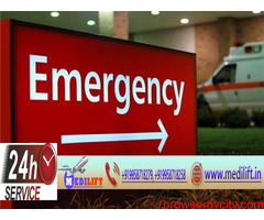Medilift Ambulance Service in Kankarbagh at very Low-Cost