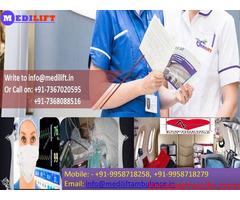 Get Emergency Ambulance Service in Danapur by Medilift