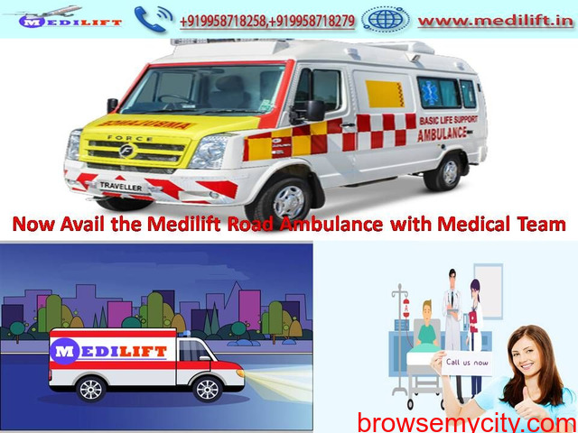 Medilift Low-Cost Ambulance Service in Bihta ICU Facility - 1/1