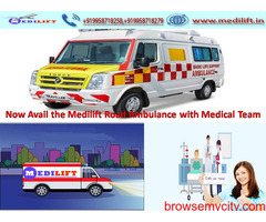 Medilift Low-Cost Ambulance Service in Bihta ICU Facility