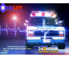 24*7 Hours Medical facilities by Medilift Ambulance Service in Patna