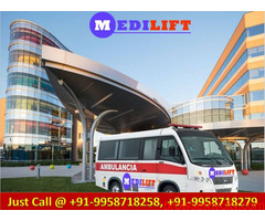 Medilift Ambulance Service in Bokaro with ICU MD Doctors