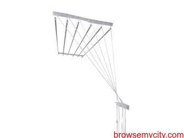 Balcony Cloth Drying Roof Hanger in Ziaguda Call 09290703352 - 1/4