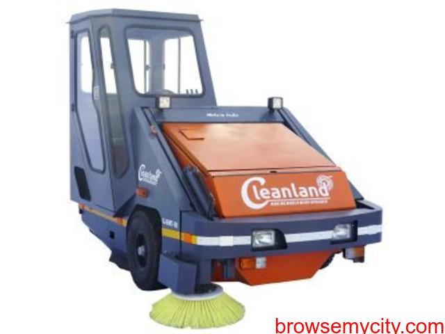 Big on Saving Sweeping Machine with Operator - 1/4