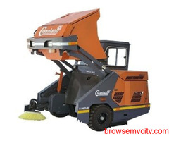 Big on Saving Sweeping Machine with Operator
