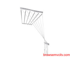 Buy Cloth Drying Roof Hanger Near TSHB Sampoornam Apartments Call 09290703352