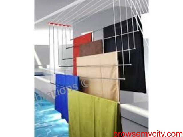 Buy Cloth Drying Roof Hanger Near TSHB Sampoornam Apartments Call 09290703352 - 4/5
