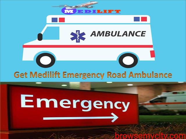 Medilift Ambulance Service in Sitamarhi - Get more Facilities - 1/1