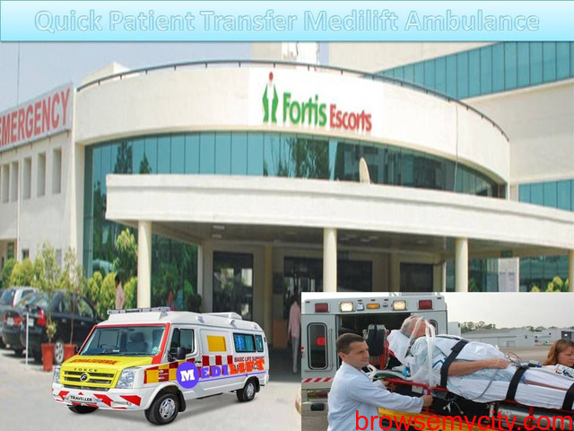 Good to Hire in Genuine Cost - Medilift Ambulance Service in Patna - 1/1