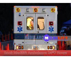 24 Hours Advanced Solution – Medilift Ambulance Service in Varanasi