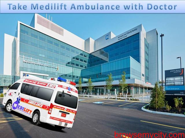 Road Ambulance Service in Muzaffarpur - Stay with the Medilift - 1/1