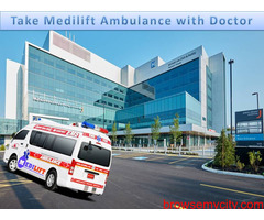 Road Ambulance Service in Muzaffarpur - Stay with the Medilift