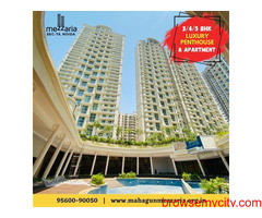Mahagun Mezzaria | Noida | 3/4/5 BHK luxury apartments | 9560090050