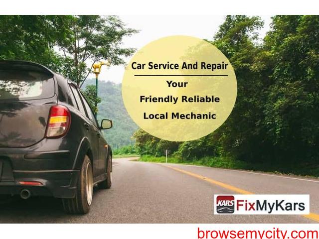 Car Servicing Centre Near Me | Online Car Service Appointment | fixmykars.com - 1/1