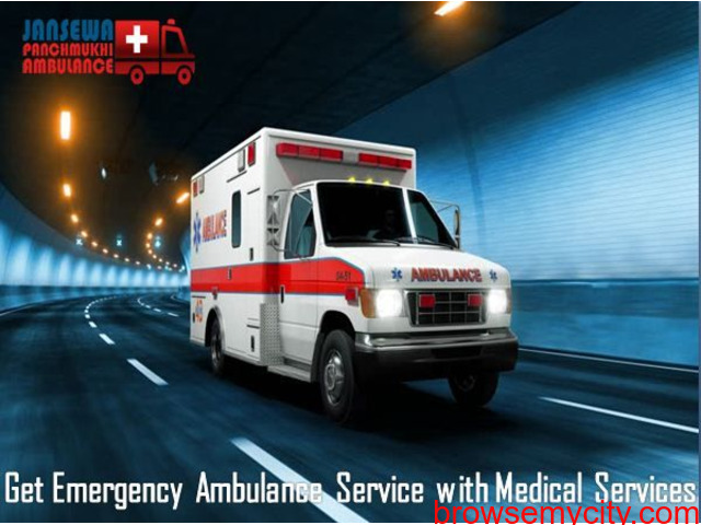 Select Ambulance Service in Karolbagh with Expert Medical Team - 1/1