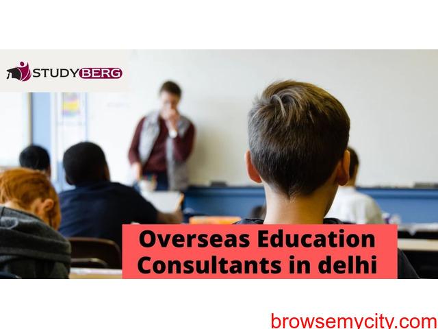 Overseas Education Consultants in delhi: StudyBerg - 1/1
