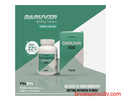 Buy Daruvir 600mg Tablet Online At Low Price In India: PillsBills