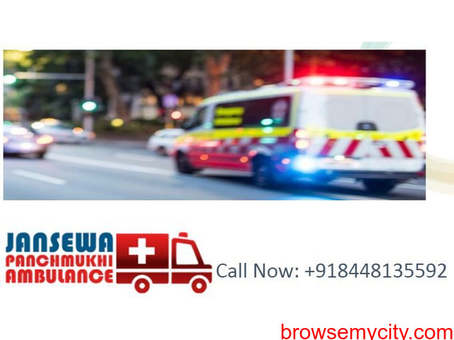 Choose ambulance service in Chanakyapuri with developed medical facilities - 1/1
