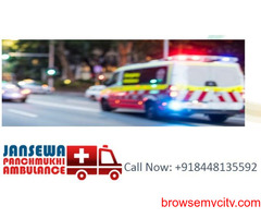 Choose ambulance service in Chanakyapuri with developed medical facilities