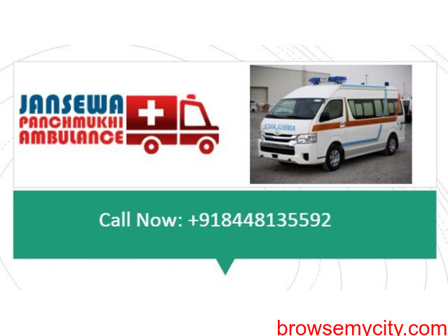 Choose an Ambulance Service in Bhagalpur with Excellent Medical Treatment - 1/1