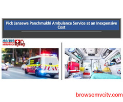 Get an Ambulance Service in Darbhanga with Complete Medical Care